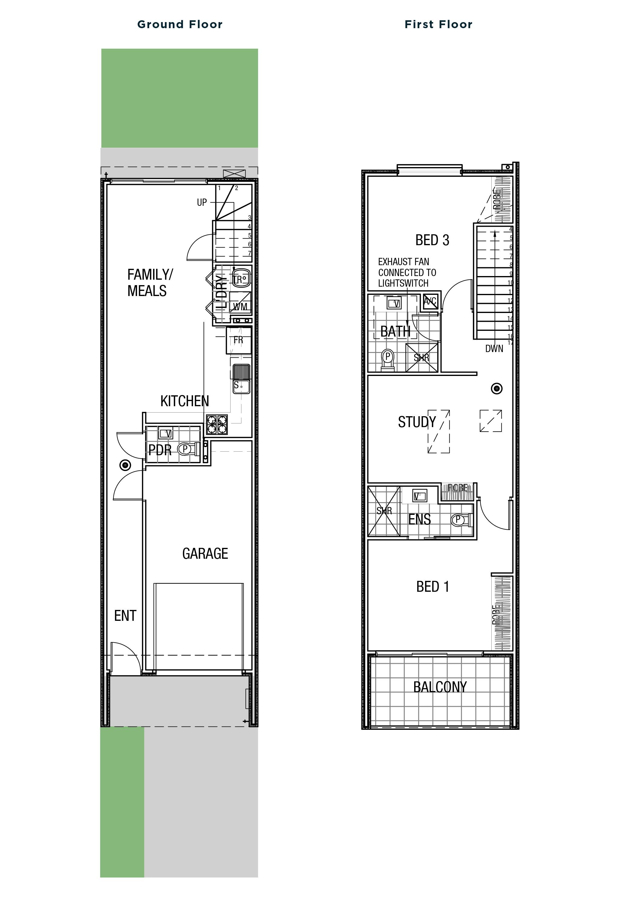 Gladstone floor plan