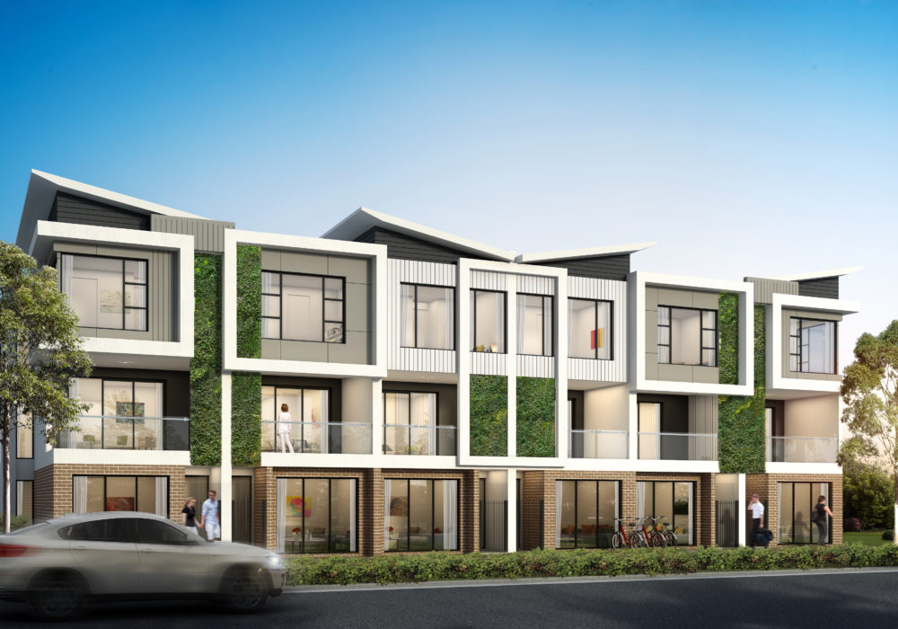 Brand New Prospect 1838 Townhouses Under Construction
