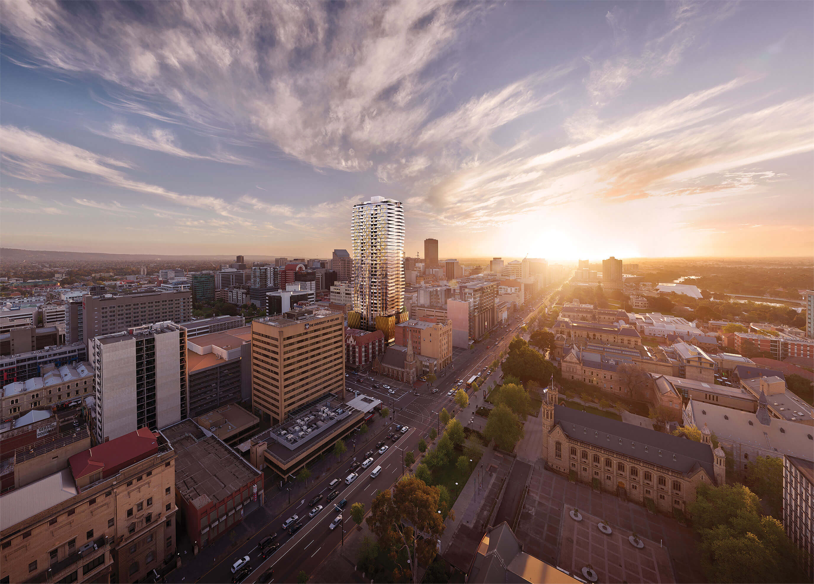 Realm will be Adelaide's most luxurious and highest tower