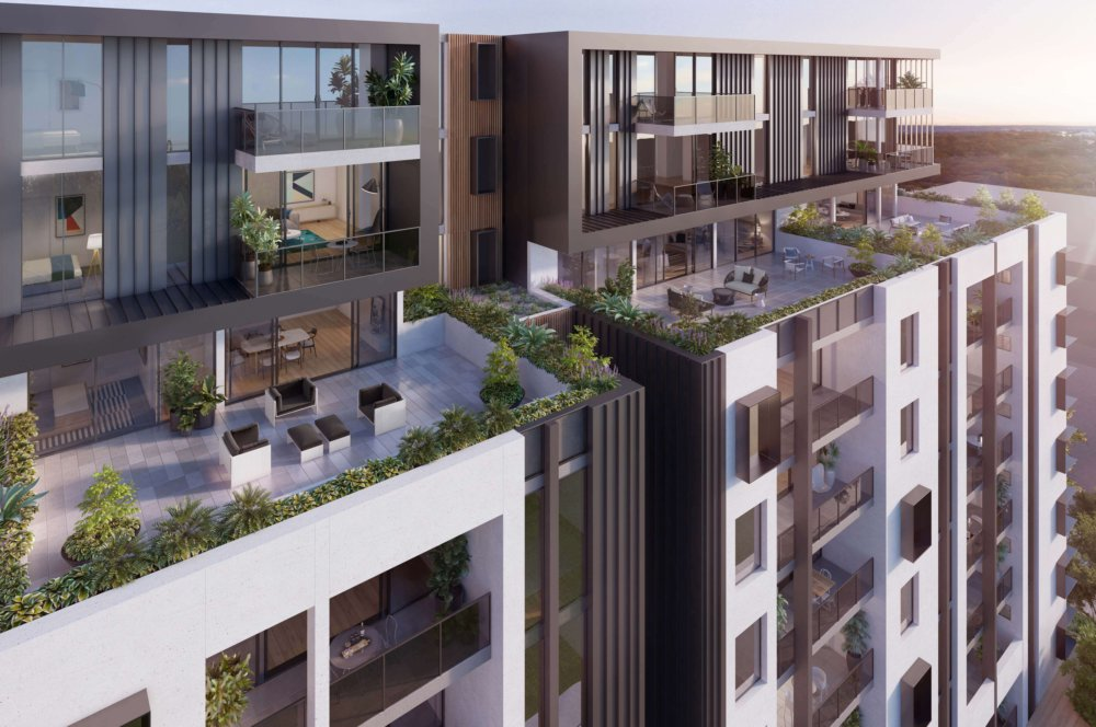 354 BOWDEN ON THE PARK – 6th floor terrace